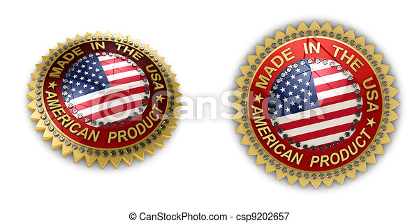 Made in the USA Seal - csp9202657