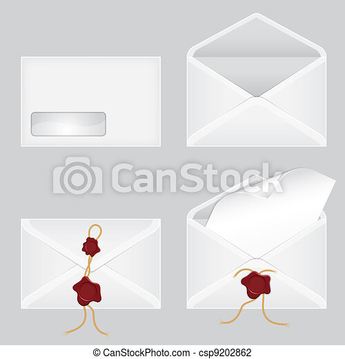 Set of Envelopes - csp9202862