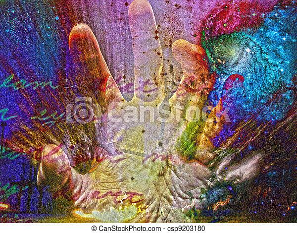 Hand Fear - csp9203180