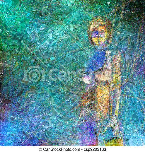 Digital Painting - csp9203183
