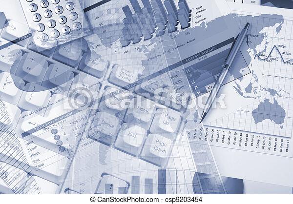 business background - csp9203454