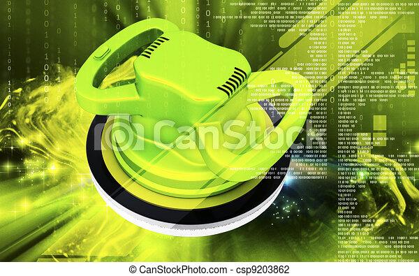 Car polisher  - csp9203862