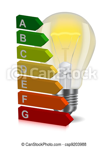 bulb and energy classification - csp9203988