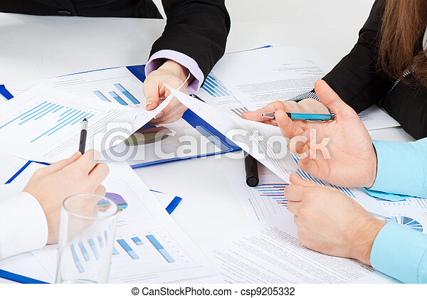 Business, jeune, bureau, gens - csp9205332