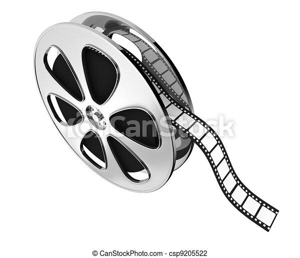 concept of film industry - csp9205522