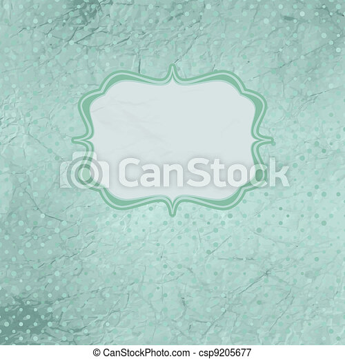 Valentine card with placeholder. EPS 8 - csp9205677