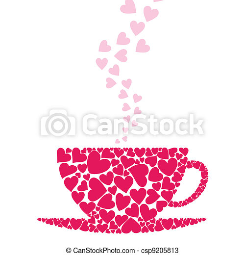 Cup love - csp9205813