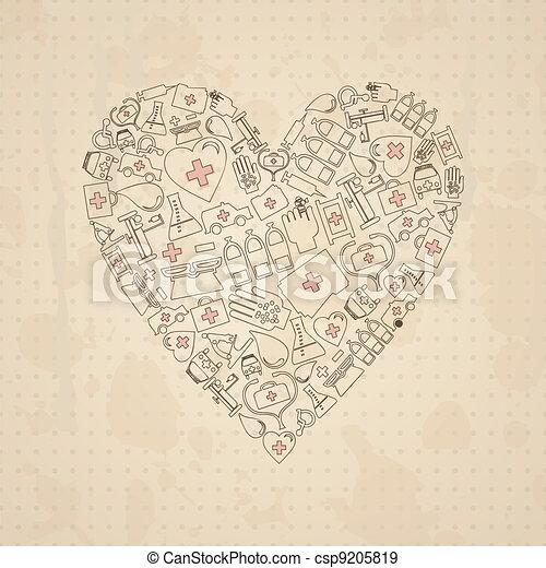 Medical heart3 - csp9205819