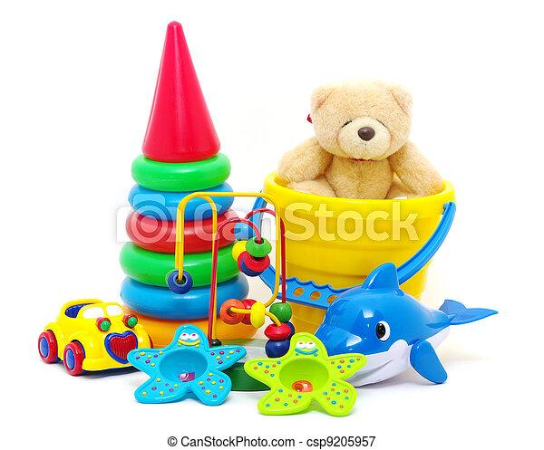 Sammlung, Spielzeuge - csp9205957