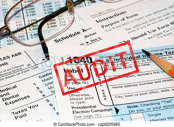 Tax audit - csp9205965