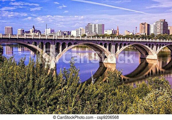 City of Bridges - csp9206568