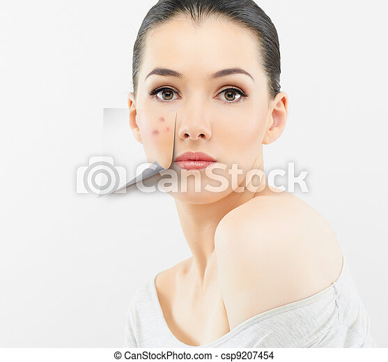 beauty portrait - csp9207454