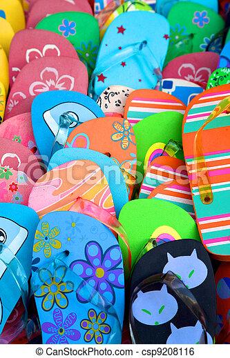 Coloured flip flop - csp9208116