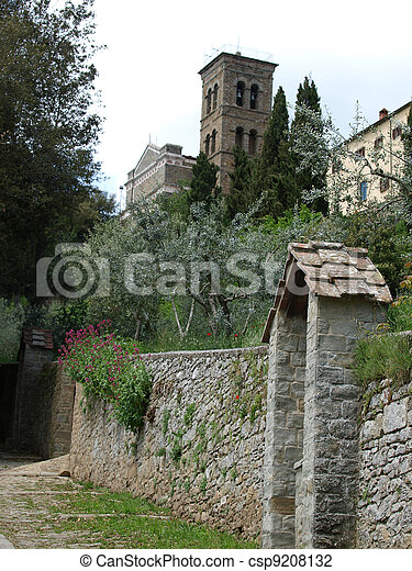 the shrine of St. Margaret of Cortona - csp9208132