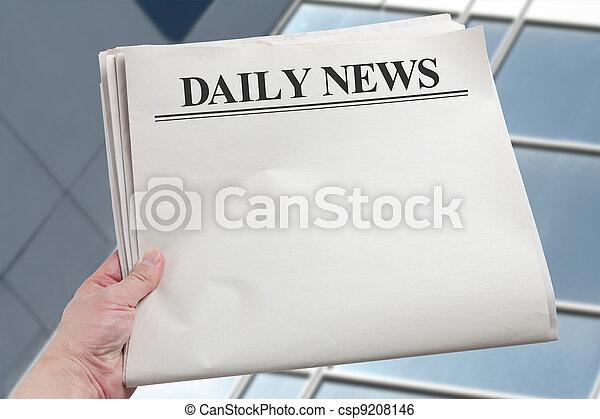 Daily News - csp9208146