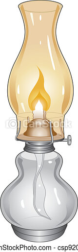 Oil Lamp - csp9208813