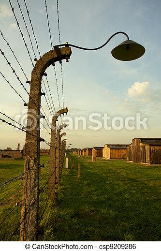 Auschwitz-Birkenau Concentration Camp - csp9209286