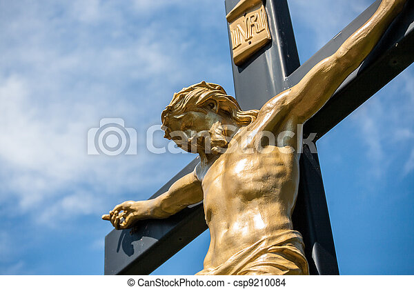 Jesus on a Crucifix - csp9210084