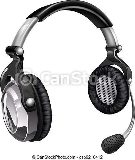 Microphone headset - csp9210412
