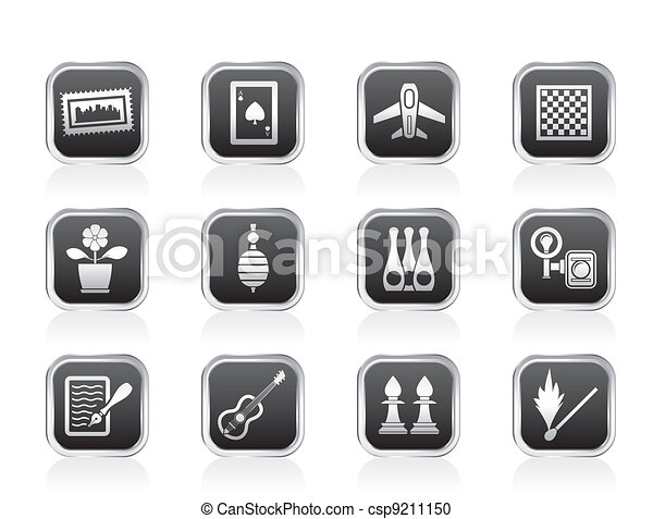 Hobby, Leisure and Holiday objects  - csp9211150