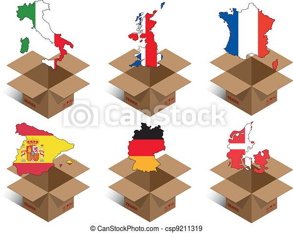 box countries - csp9211319