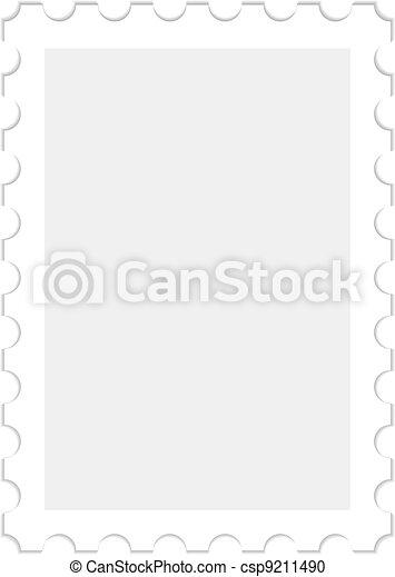 blank stamp - csp9211490