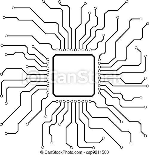 Hi-Tech Circuit Board - csp9211500