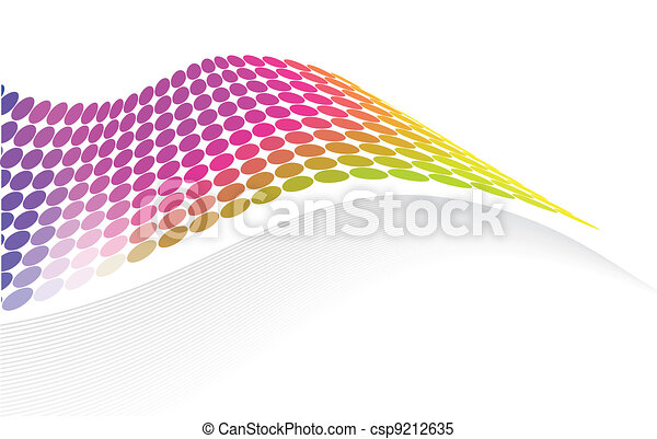 colorful abstract template - csp9212635