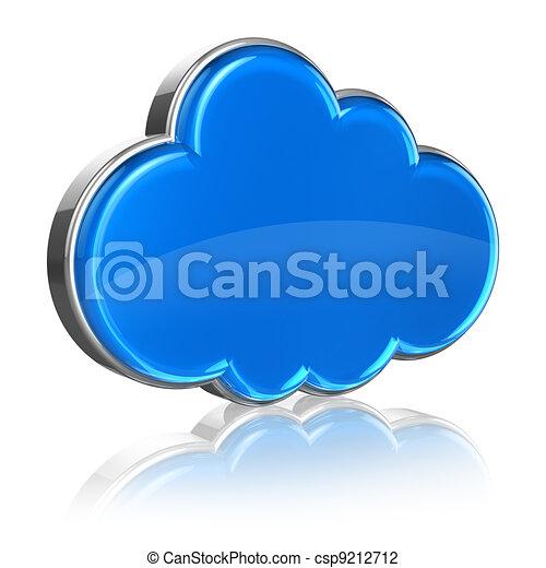 Cloud computing concept - csp9212712