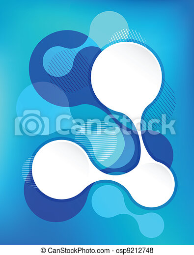 blue abstract background - csp9212748