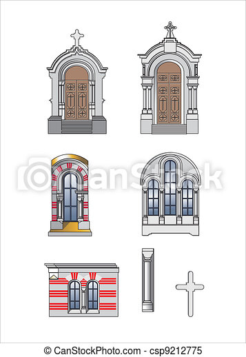 architect elements of castle - csp9212775