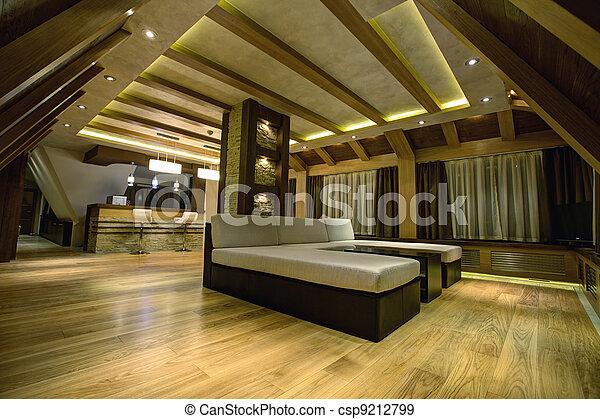 Modern livingroom - csp9212799