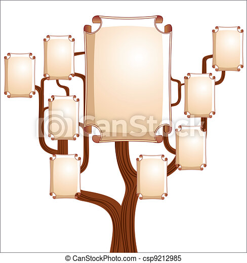 Family tree - csp9212985