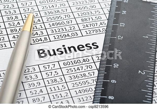 Finances background - csp9213596