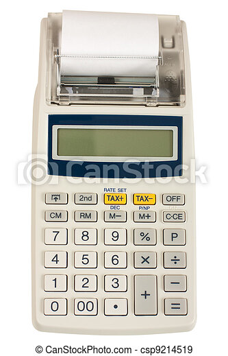 Electronic cash register - csp9214519