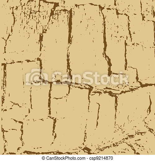 aging paper texture, vector illustration - csp9214870