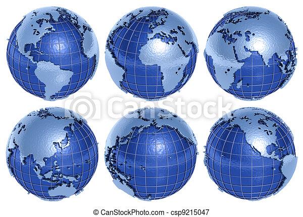 Globe Six Sides - csp9215047