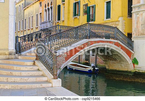 Venice canal 06 - csp9215466