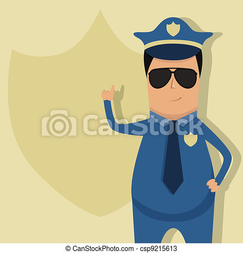 Policeman - csp9215613
