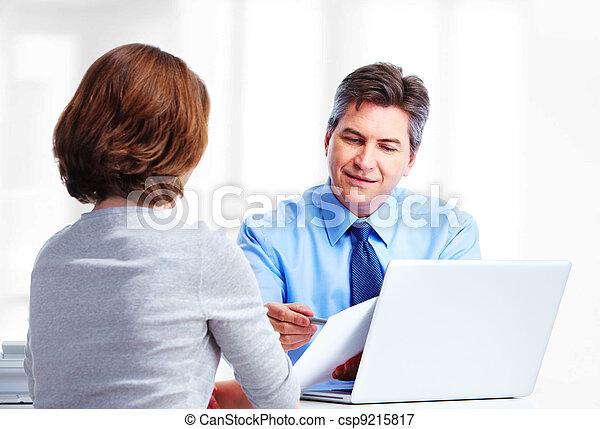 Executive businessman. - csp9215817
