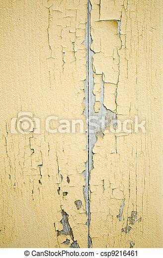 yellow ragged wall - csp9216461