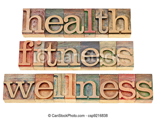 health, fitness, wellness - csp9216838