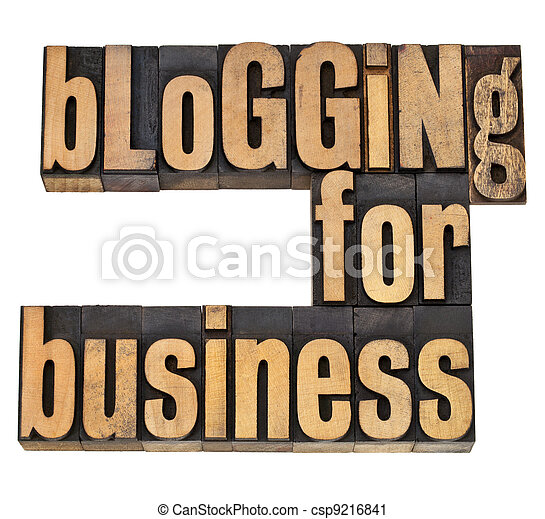 blogging for busines - csp9216841