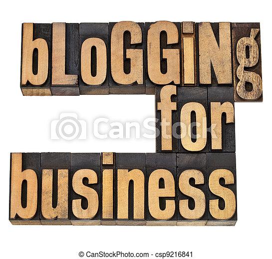 blogging for busines - csp9216841