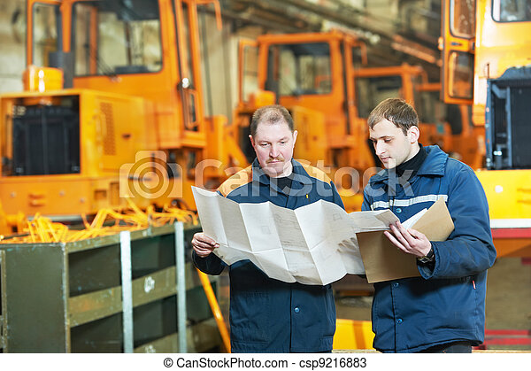 experienced industrial assembler workers - csp9216883