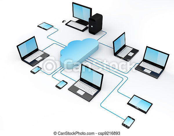 Cloud Computing Concept - csp9216893