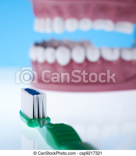 Dental health care objects  - csp9217321