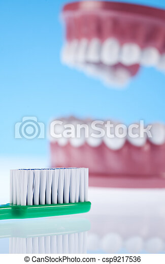 Dental health care objects  - csp9217536