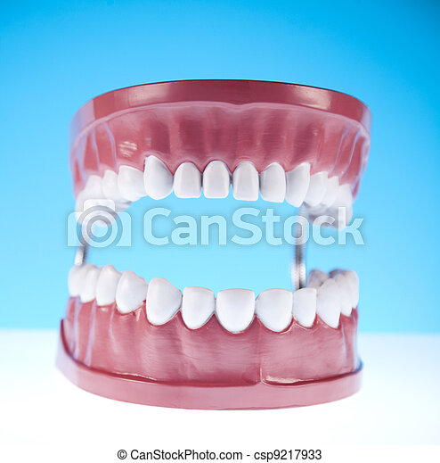 Dental health care objects - csp9217933