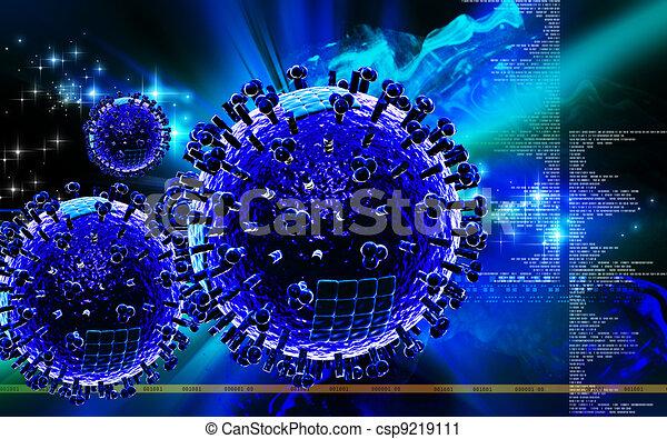 Avian Virus   - csp9219111